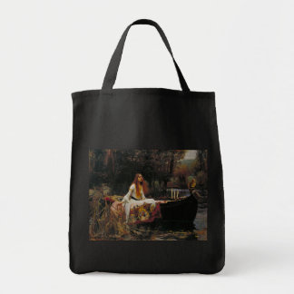 Señora del chalote de John William Waterhouse Bolsa Tela Para La Compra