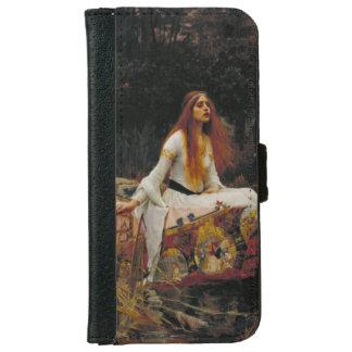 Señora del chalote de John William Waterhouse Carcasa De iPhone 6