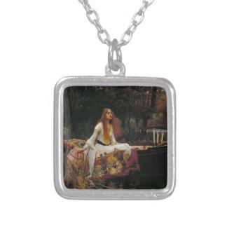 Señora del chalote de John William Waterhouse Colgante Personalizado