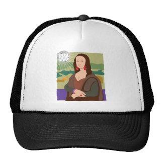Señora del disco de Mona Lisa Gorro
