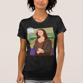 Señora del disco de Mona Lisa Playeras
