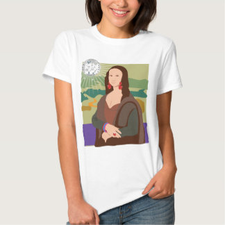 Señora del disco de Mona Lisa Polera