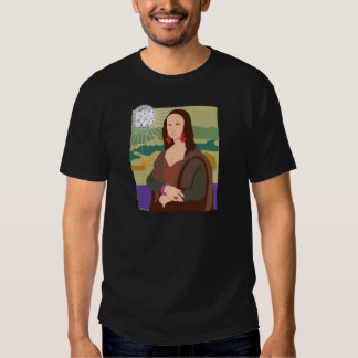 Señora del disco de Mona Lisa Remeras