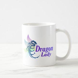 Señora del dragón taza