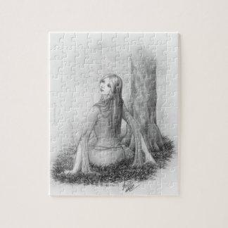 Señora del duende puzzles con fotos
