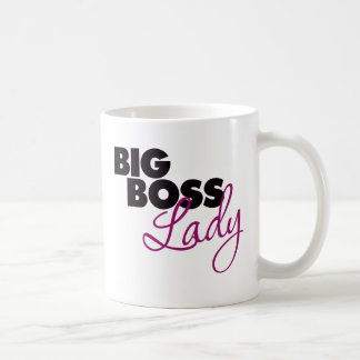 Señora del gran jefe taza de café