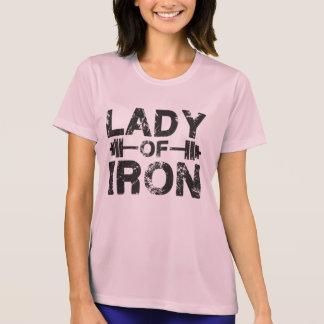 Señora del hierro camisetas