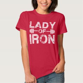 Señora del hierro tshirts