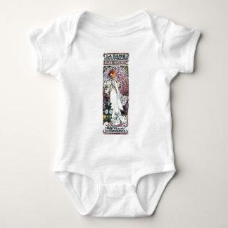 señora del mucha con nouveau del arte del thatre t-shirts