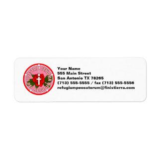Señora Del Refugio Label