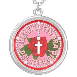 Señora del Refugio Silver Plated Necklace