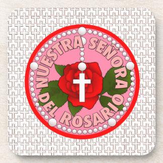 Señora del Rosario Beverage Coaster