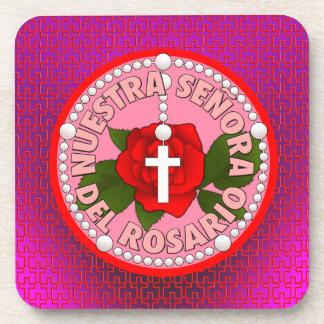Señora del Rosario Drink Coaster