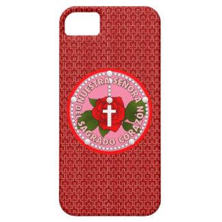 Señora del Sagrado Corazón iPhone 5 Covers