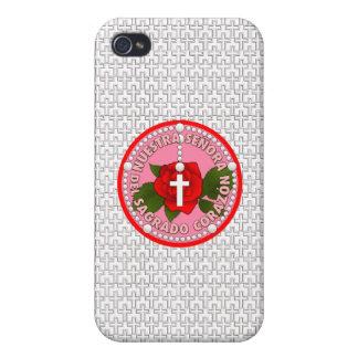 Señora Del Sagrado Corazón Cases For iPhone 4
