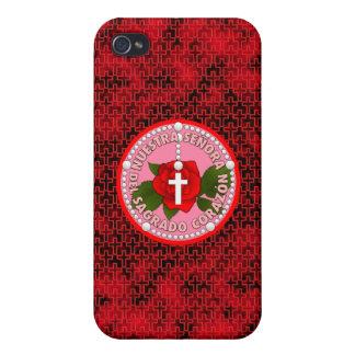 Señora Del Sagrado Corazón iPhone 4/4S Cases