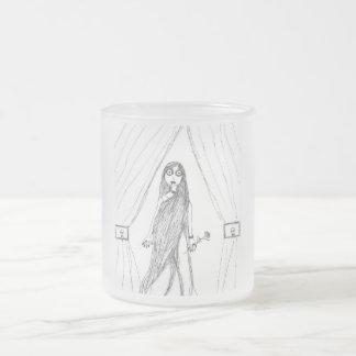 Señora del vampiro taza de cristal