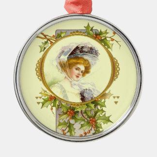 Señora del Victorian del vintage de la colección d Adorno Para Reyes