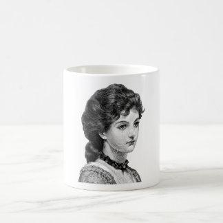 Señora del Victorian Taza Clásica