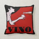 Señora del vino almohada