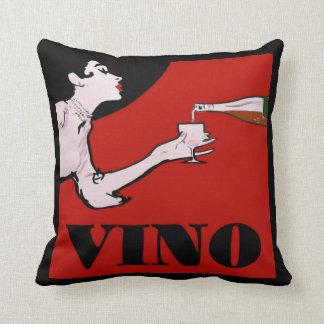 Señora del vino cojin