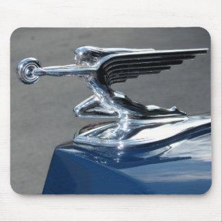 Señora del vuelo de Packard Mousepads