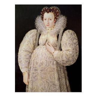 Señora desconocida, c.1595-1600 postales