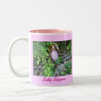 Señora deslizador 2 taza de café