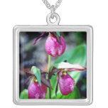 Señora deslizador I, placer verde rosado del jardí Grimpolas Personalizadas