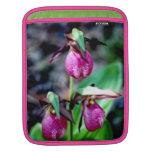 Señora deslizador I, placer verde rosado del jardí Mangas De iPad