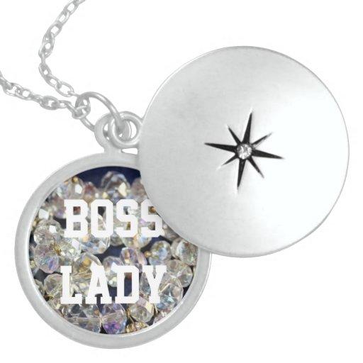 Señora Diamonds Locket de Boss Collares