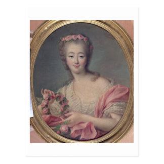 Señora du Barry, 1770 Tarjeta Postal