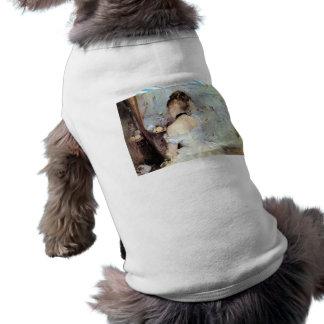 Señora en el retrete de Berthe Morisot Camiseta De Perro