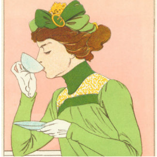 Señora en verde fotoescultura vertical