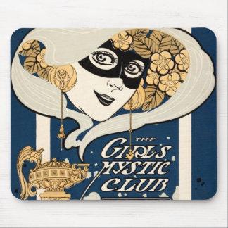 Señora enmascarada club místico de los chicas de N Tapete De Ratón