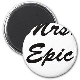 Señora Epic Imán Redondo 5 Cm
