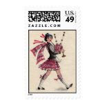 Señora escocesa Stamp Franqueo