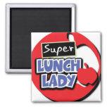 Señora estupenda Magnet del almuerzo Iman De Nevera
