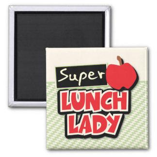 Señora estupenda Magnet del almuerzo Iman Para Frigorífico