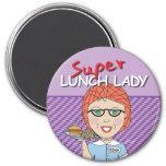 Señora estupenda Magnet del almuerzo Imán De Nevera
