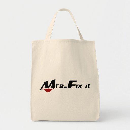 Señora Fix It Bolsa De Mano