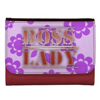 Señora Flowers Medium Leather Wallet de Boss
