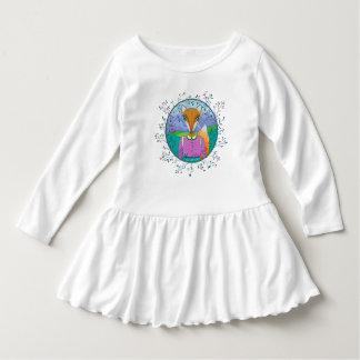 Señora Fox Toddler Ruffle Dress Camisas
