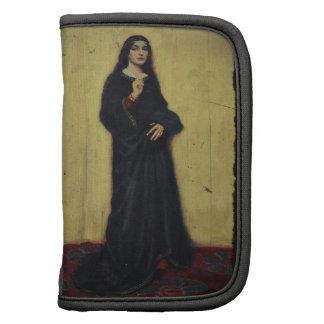 Señora francesa del renacimiento organizador