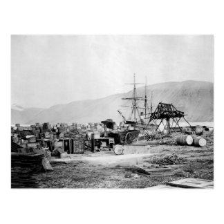 Señora Franklin Bay Expedition 1880s Tarjetas Postales