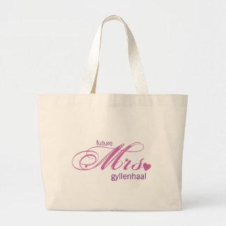 Señora futura Customizable Bag Bolsa De Tela Grande