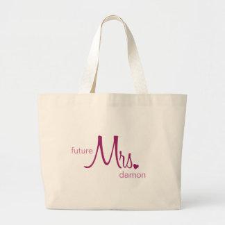 Señora futura Customizable Bag Bolsa Tela Grande