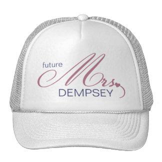 Señora futura Customizable Hat Gorra