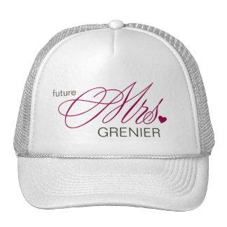 Señora futura Customizable Hat Gorros