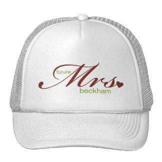 Señora futura Customizable Hat Gorro